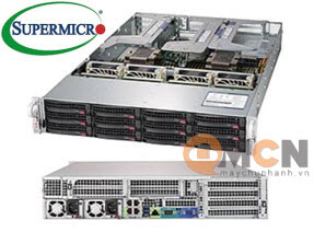 Supermicro SuperServer System SYS-6029U-TR4T Máy Chủ Rackmout 2U