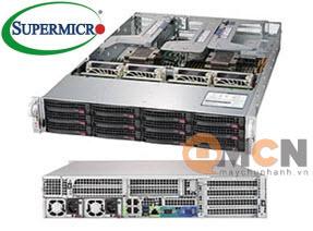 Supermicro SuperServer System SYS-6029U-TR4T Máy Chủ Rackmout 2U