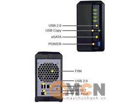 Thiết bị lưu trữ Storage NAS Synology DS210+ (HDD/SSD) 2 Bay