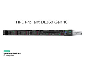 HPE Proliant DL360 Gen10 G5115 2.4GHz 1P 10C 16GB, 8SFF CTO Server