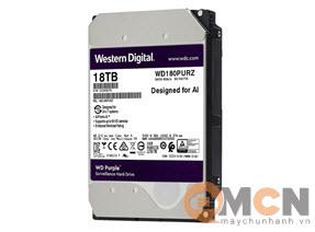 Ổ cứng Western Digital Purple 18TB 7K2 RPM Sata 3.5