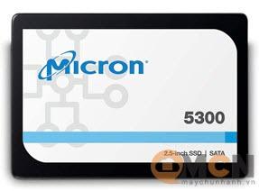 Ổ cứng SSD Micron Server 5300 Pro 7.68TB NAND TLC Sata 6.0Gb/s 2.5Inch