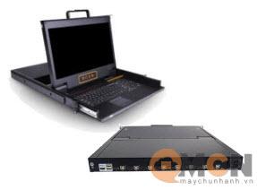 "Kinan 8 Port USB HDMI 17.3""inch Widescreen LCD KVM Console LH1708"